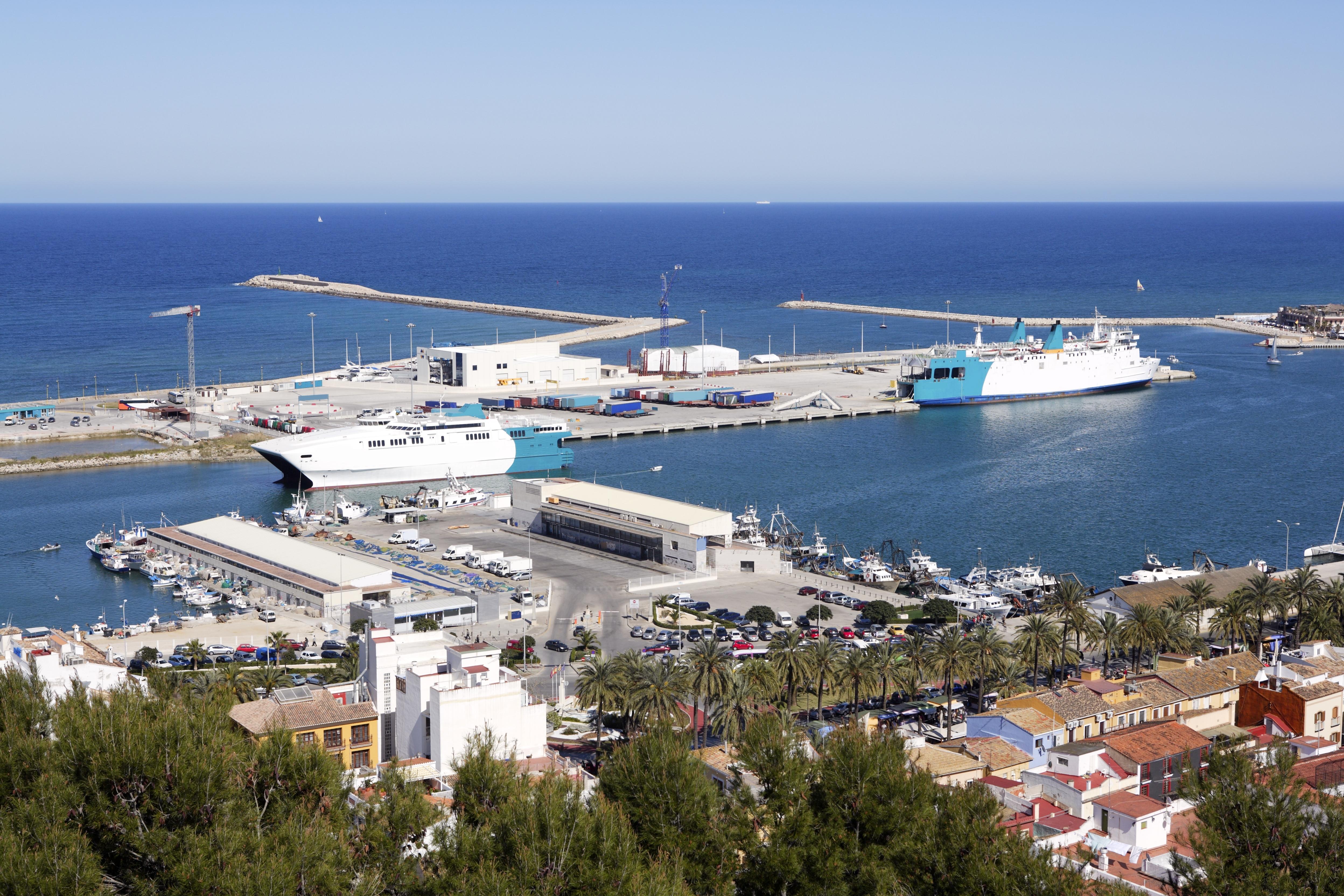 Denia Port, Spain